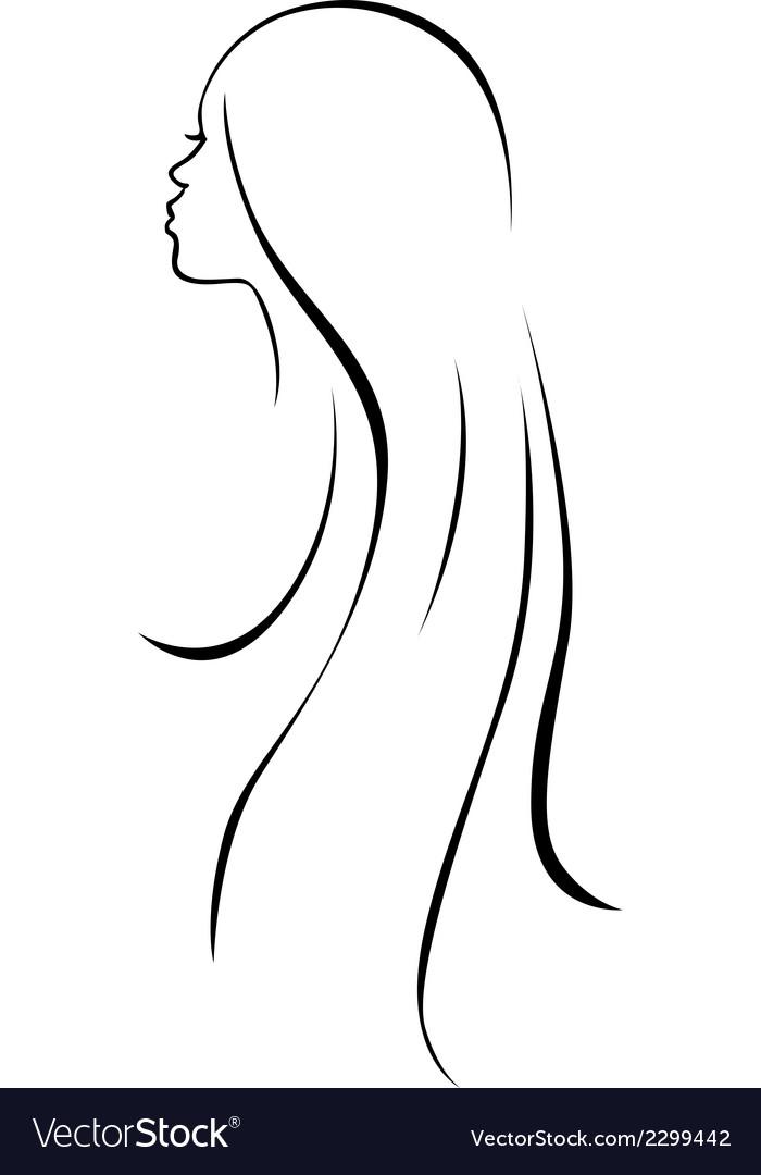 Line Drawing Art Woman