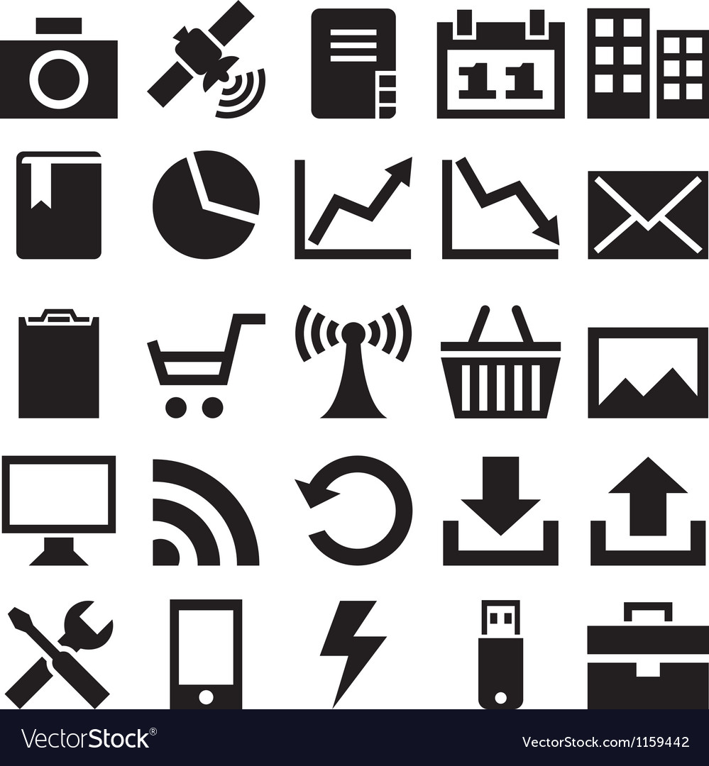 Set internet icons