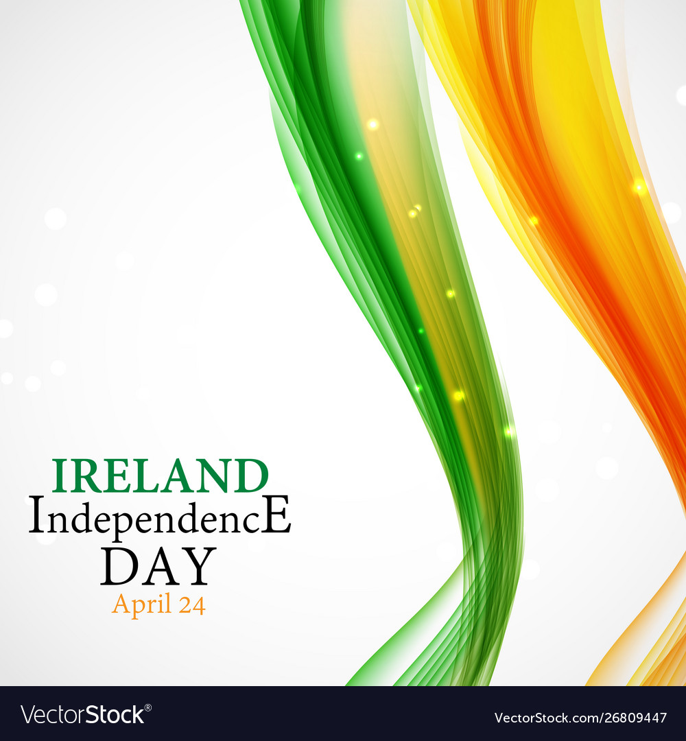 Ireland independence day background