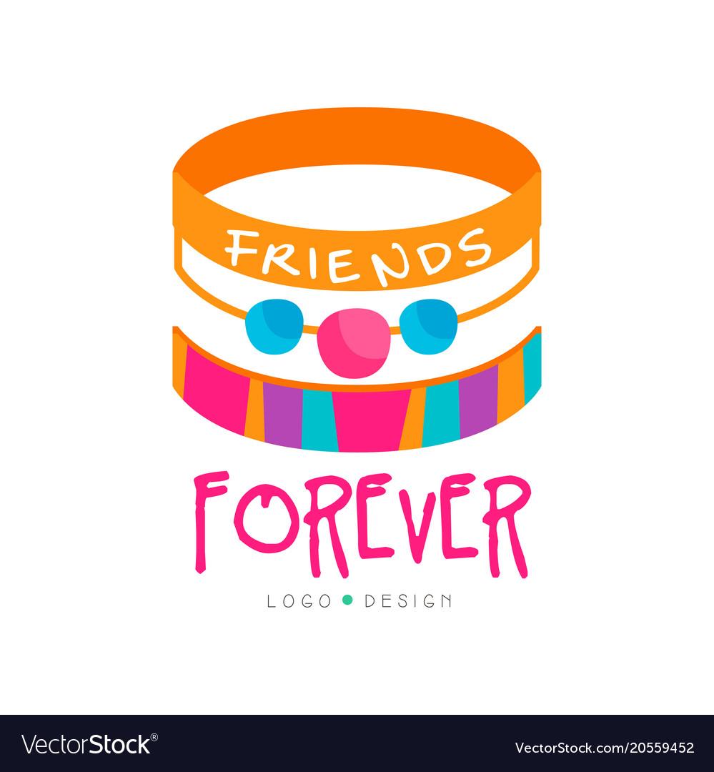 Friendship Bracelets Vector Image
