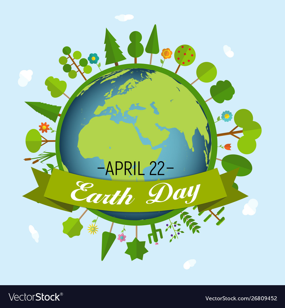 April 22 earth day background