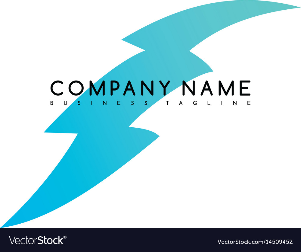 Bolt exclusive brand company template logo