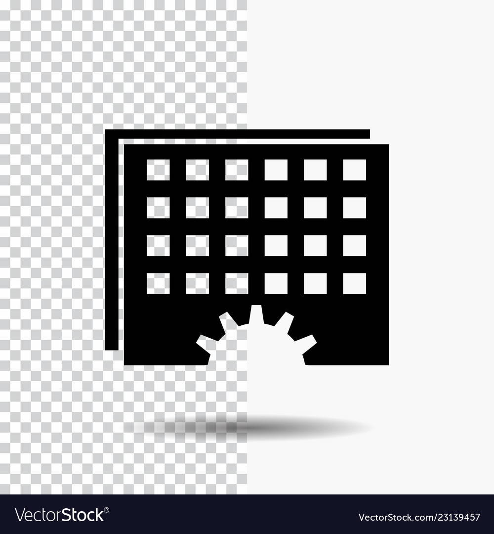 Event management processing schedule timing glyph