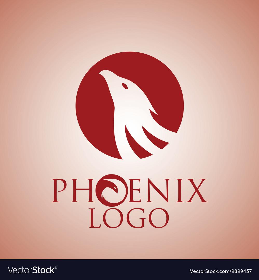 Phoenix logo 4 vector image