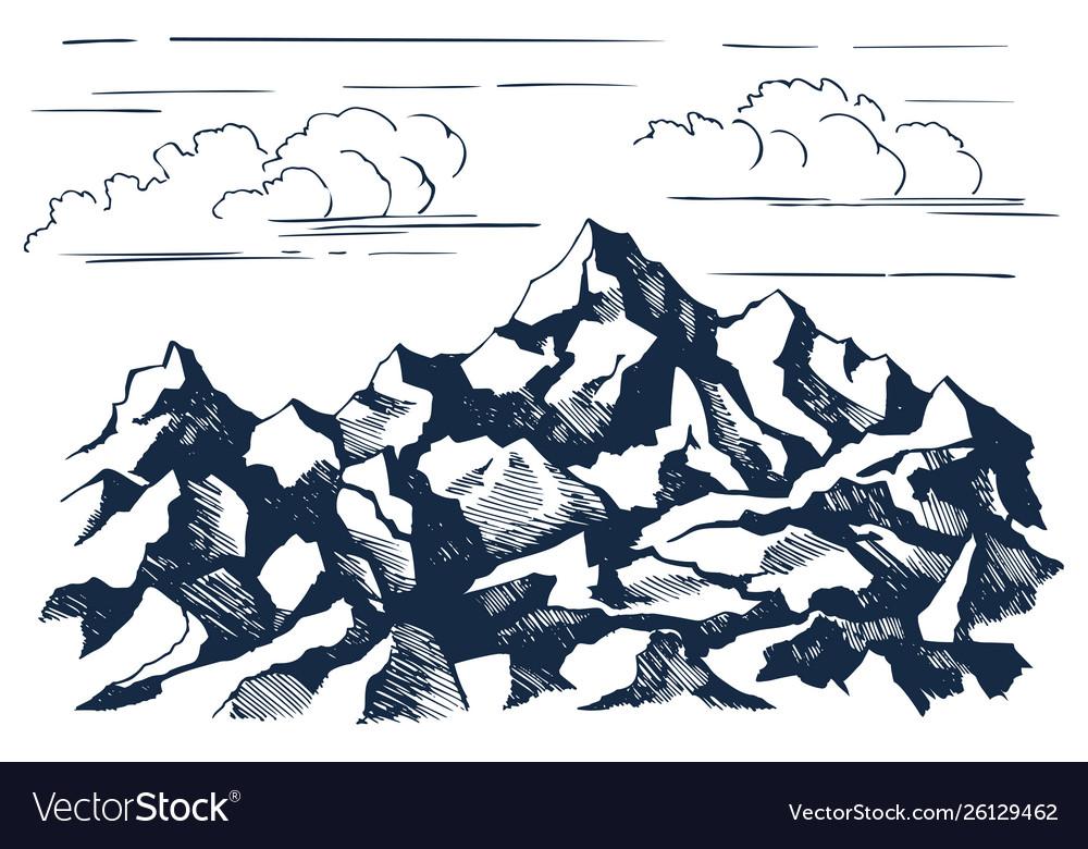 Rocks sketch