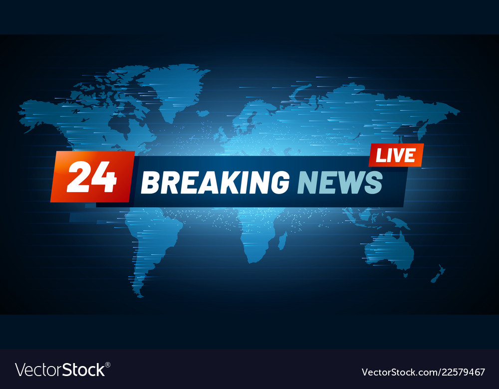 Live breaking news background streaming internet