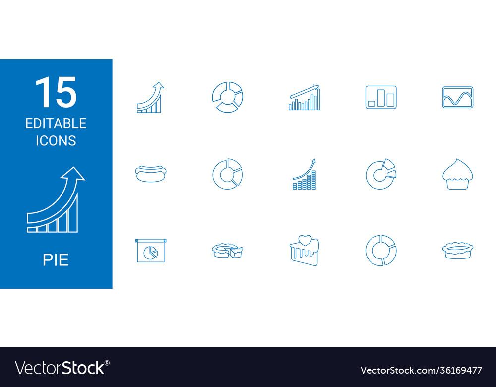 15 pie icons
