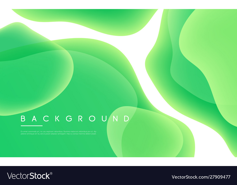 Abstract minimalist background with liquid
