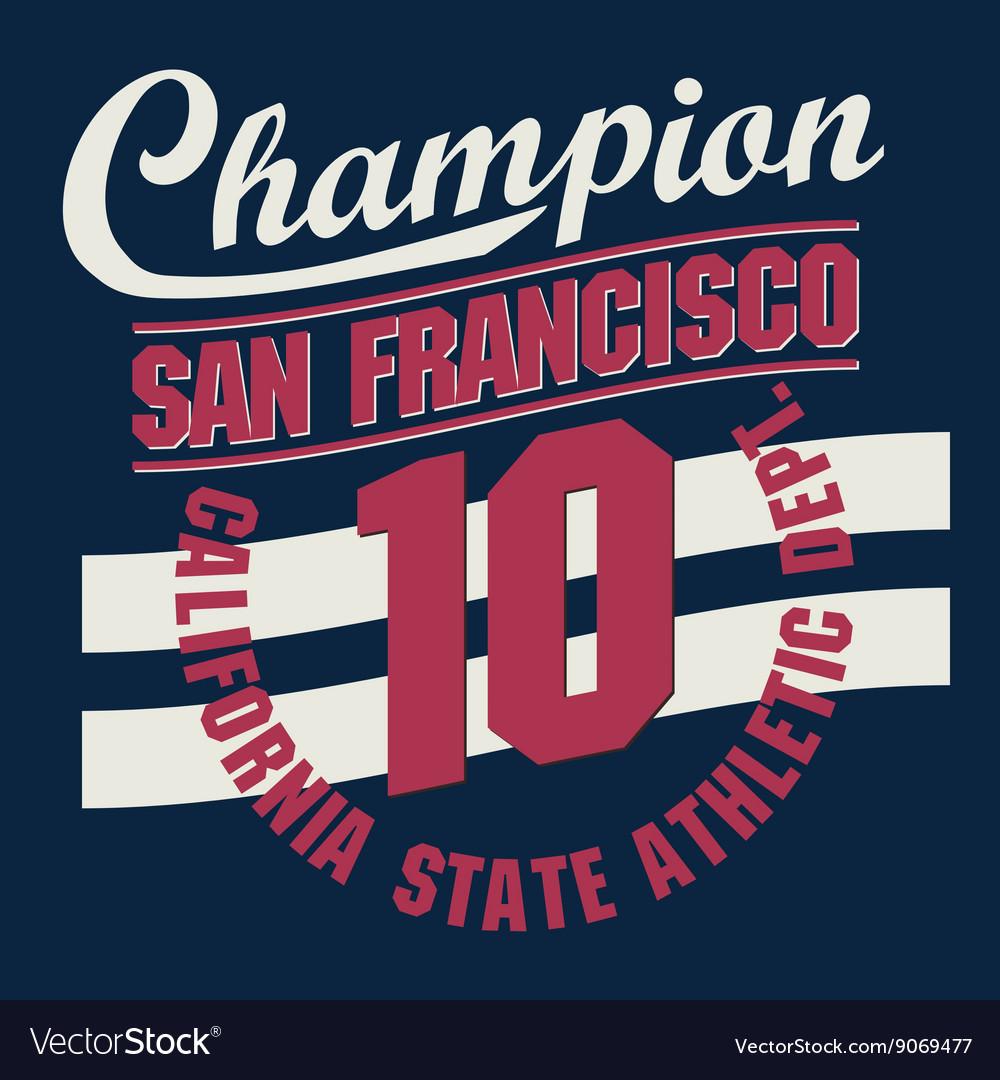 California t-shirt graphics