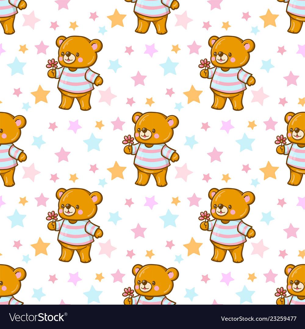 Funny cartoon bears