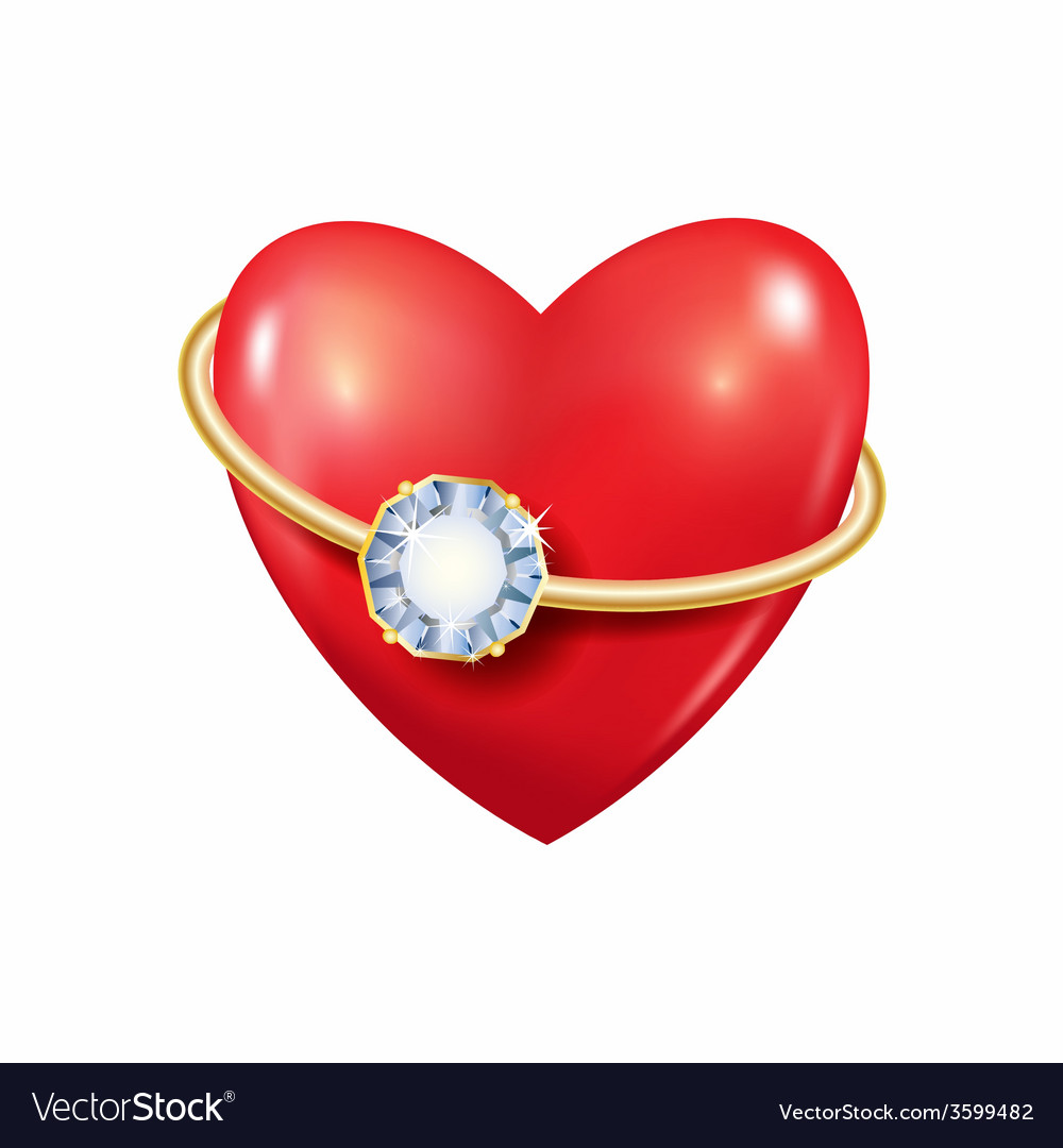 Heart with ring