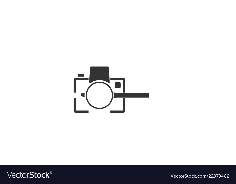 Lens Camera Photography Logo Designs Inspiration Vector Image