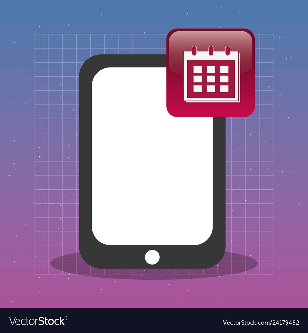 Tablet with calendar app tech