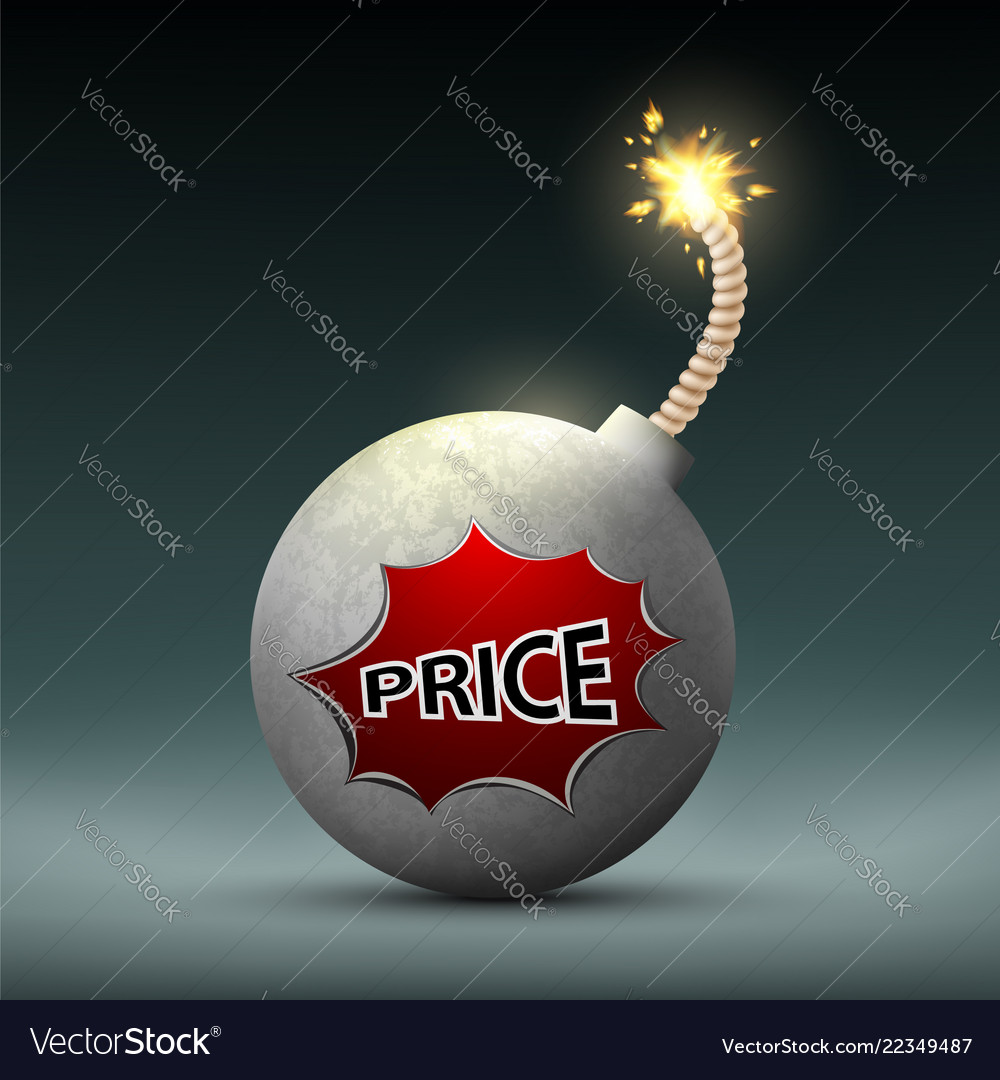 Bomb with a wick and word price sale