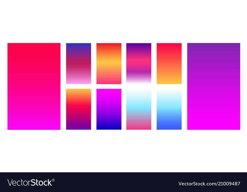 Colorful modern gradient soft backgrounds