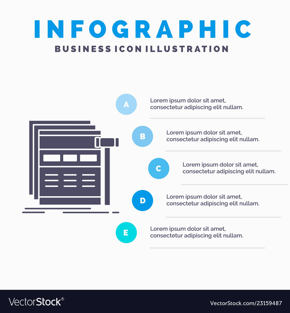 Internet page web webpage wireframe infographics
