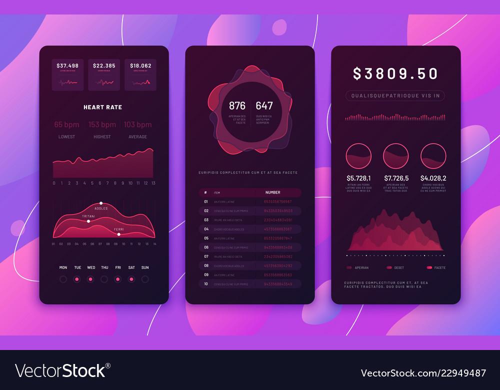 Mobile phone ui design forex trading platform