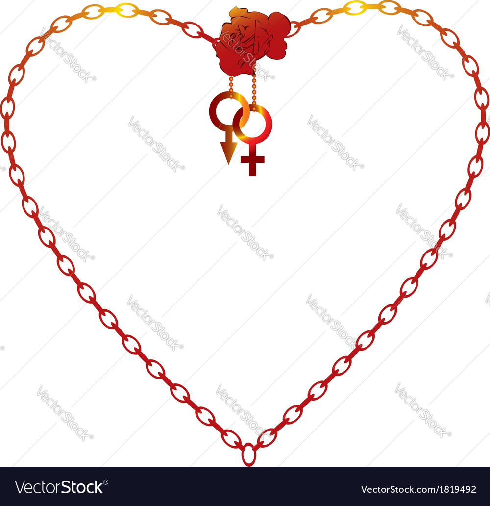 Valentine day frame Royalty Free Vector Image - VectorStock