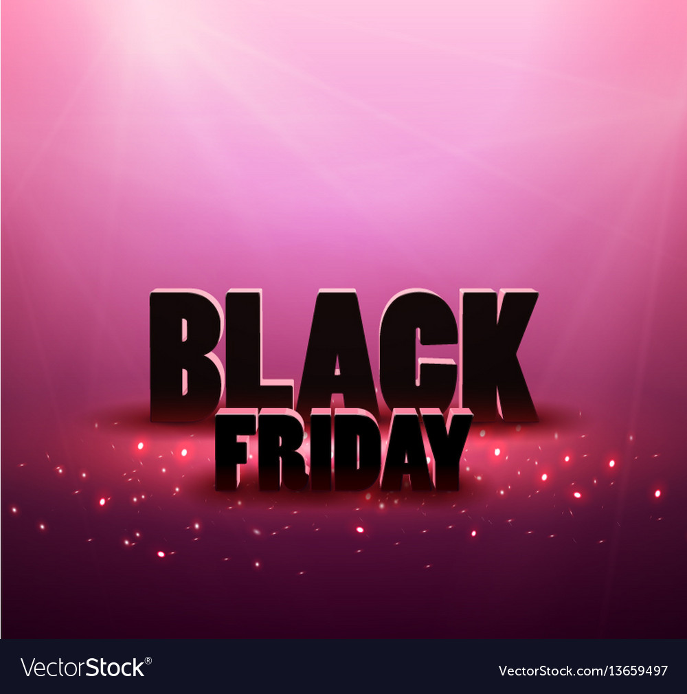 Black friday sale background with red lights