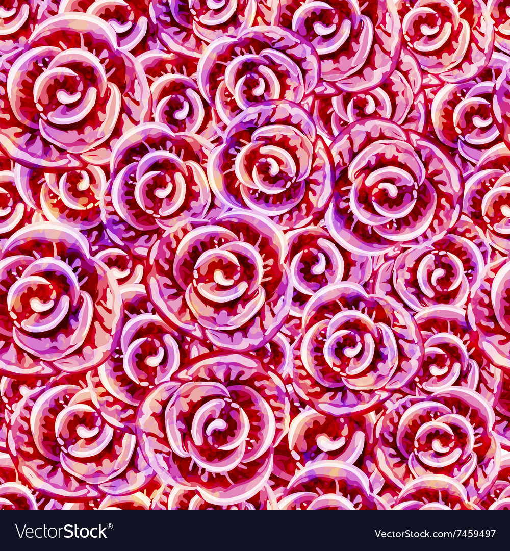 Seamless Roses Pattern EPS10