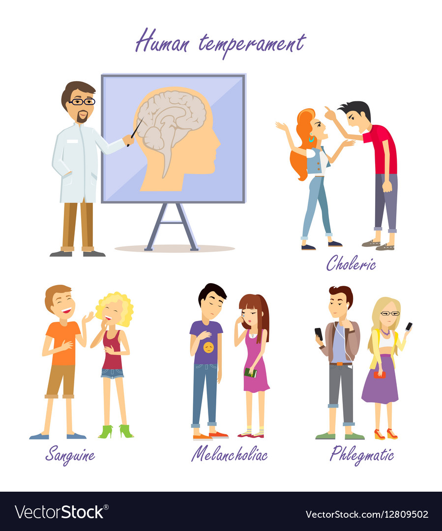 Temperaments of people: types and characteristics