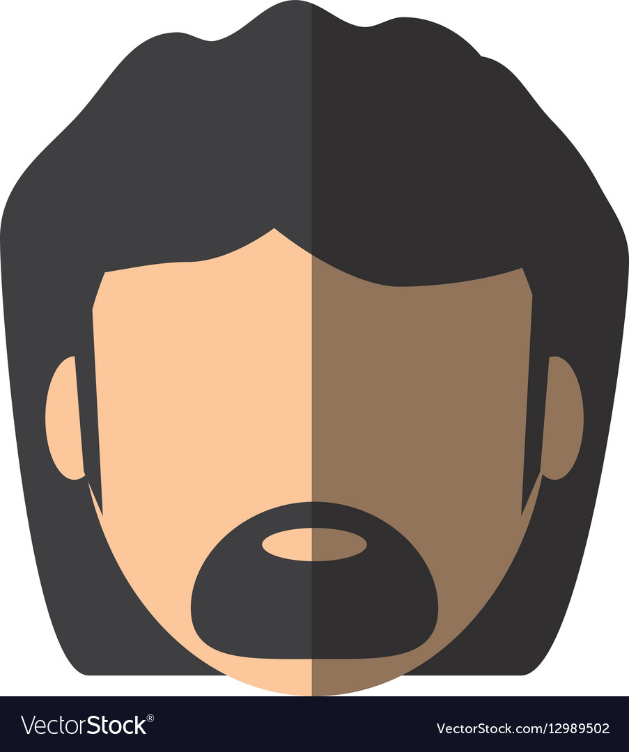 People face man with mustache icon image