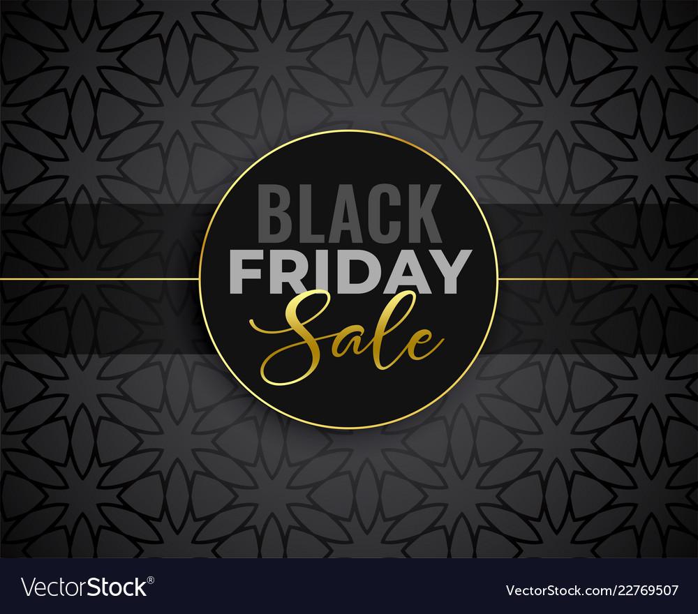 Awesome black friday sale background