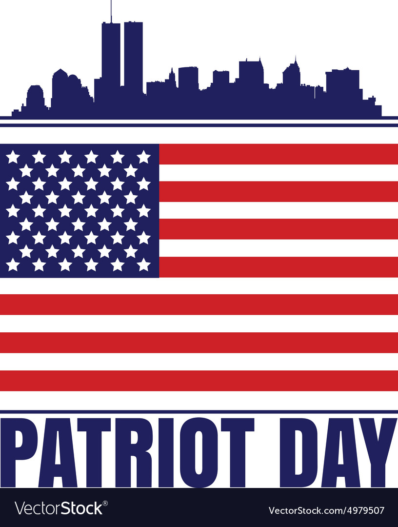 Patriot Day vector image