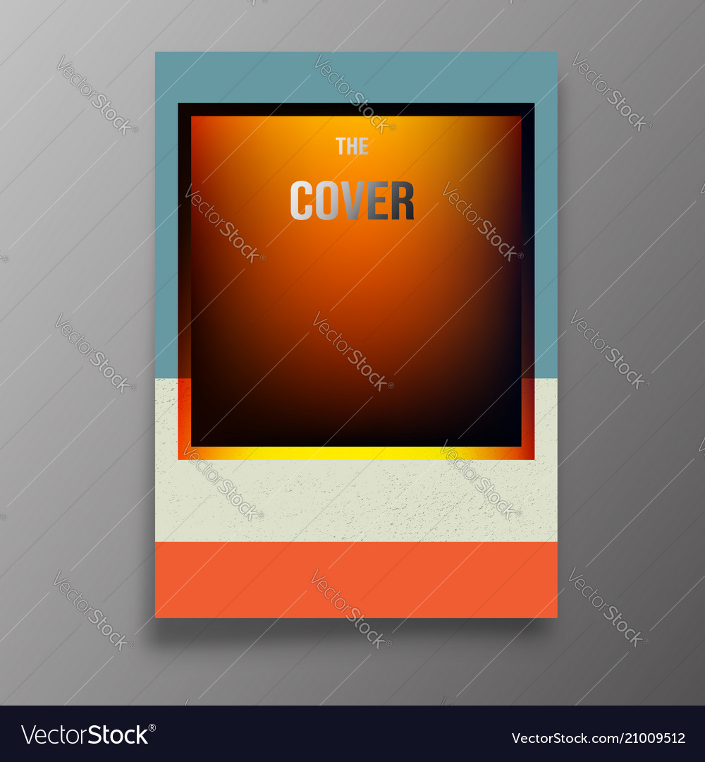 Abstract background template modern design for