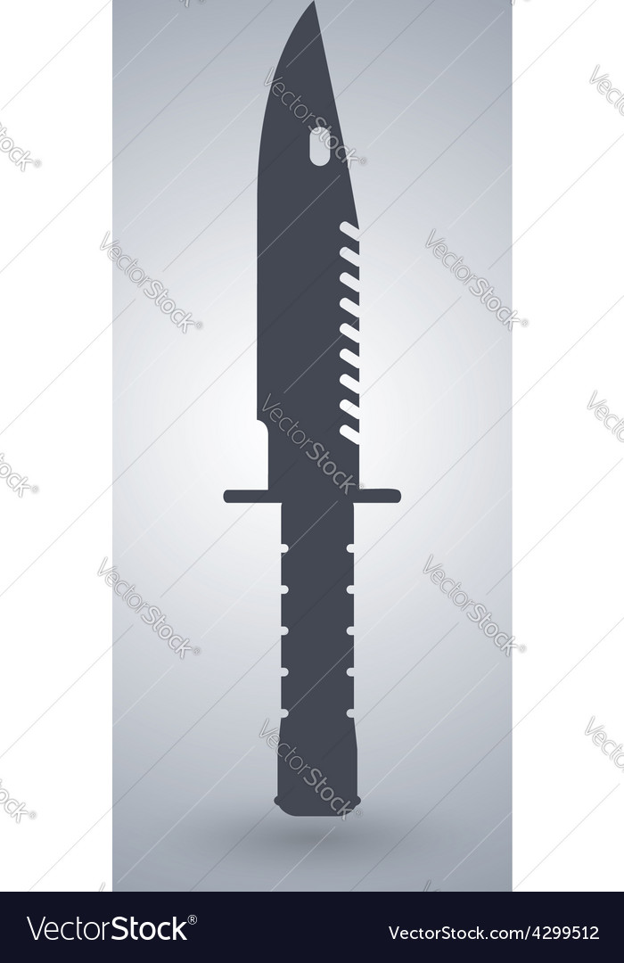 Bayonet M9 Knife Icon