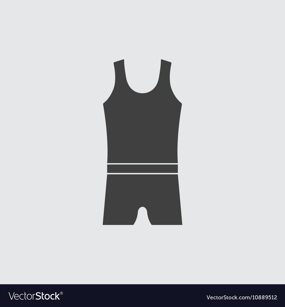 Man underwear icon vector image