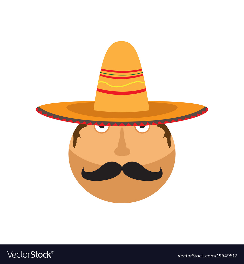 Man with a mexican hat