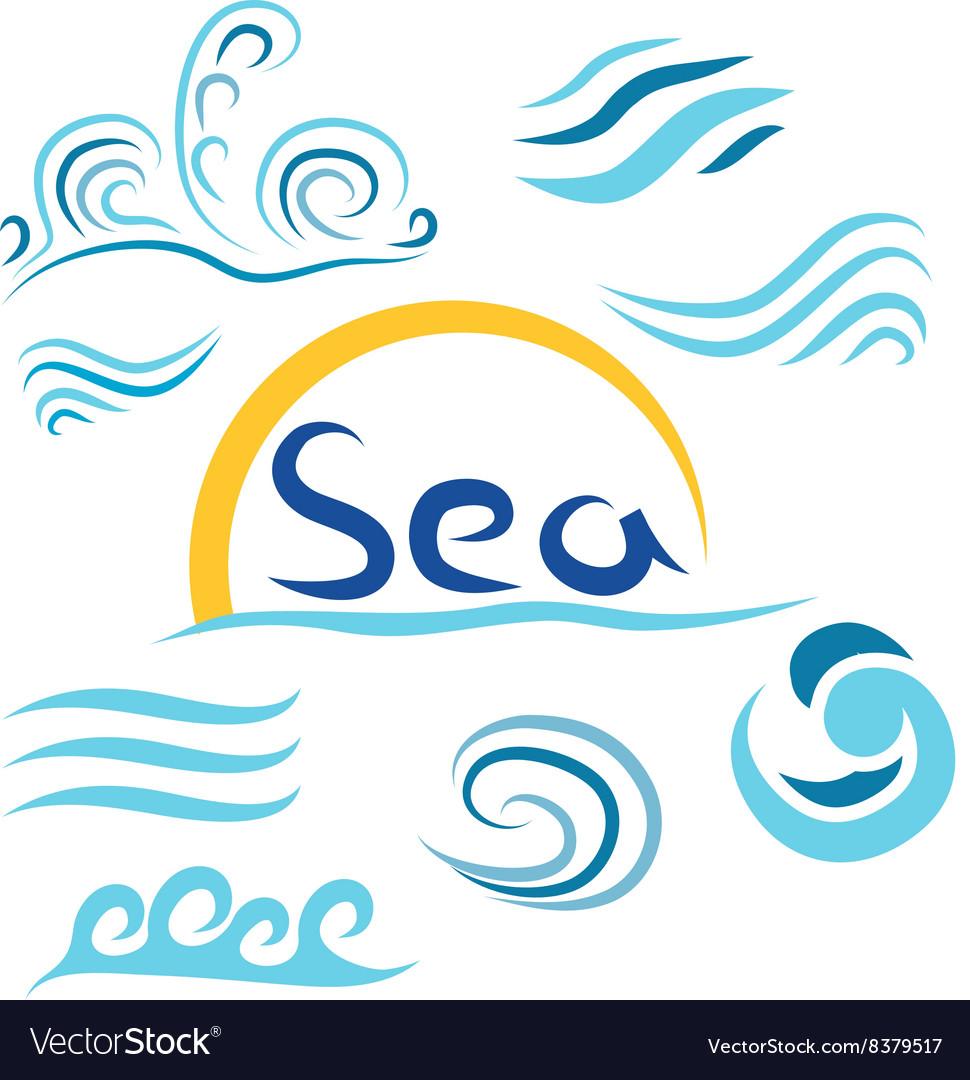 Set the wave sea sun i