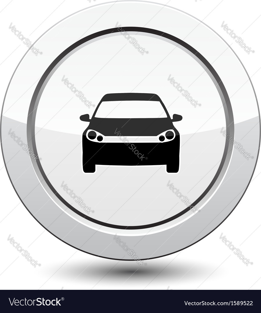 Button with car icon
