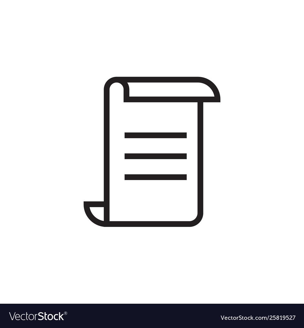 Paper icon graphic design template