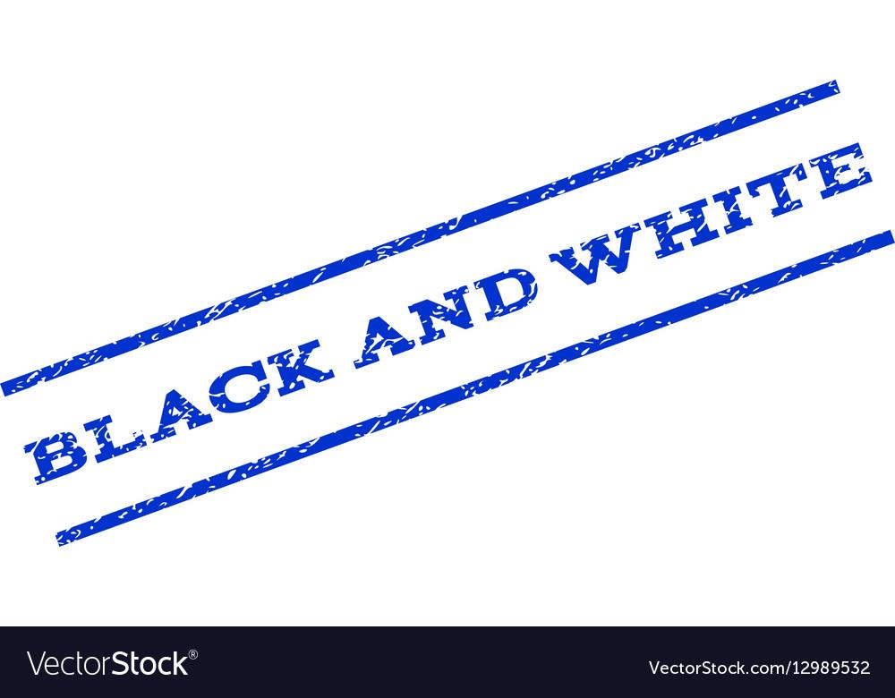 Black and White Watermark Stamp