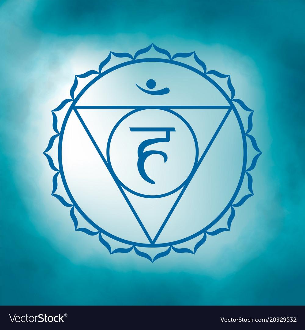 Fifth throat chakra - vishuddha