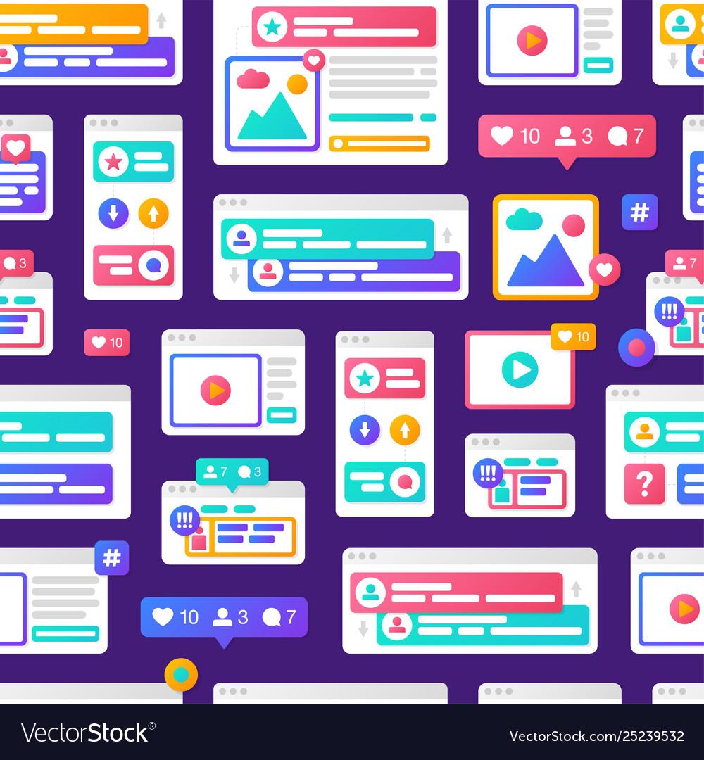 Pattern social media