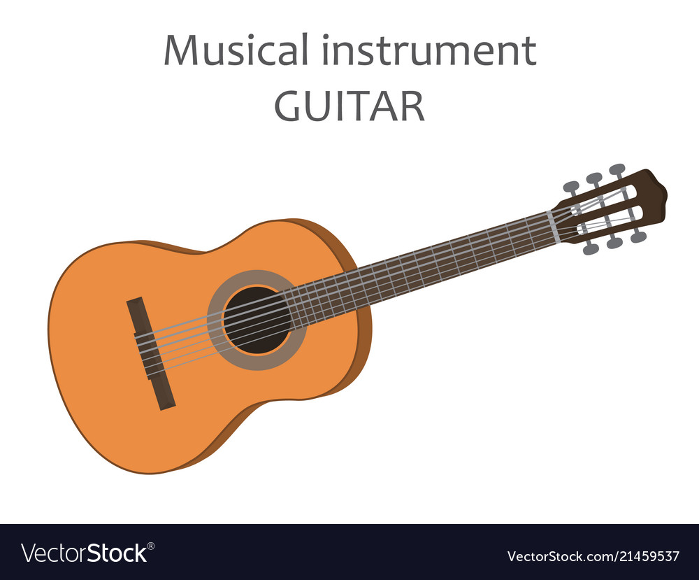 Acoustic guitar of classical