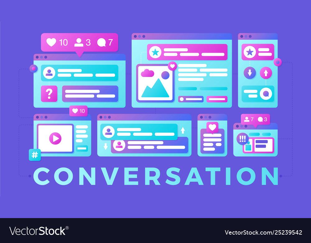 A social media