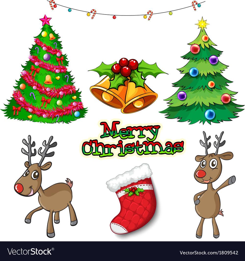 Set Of Christmas Decors