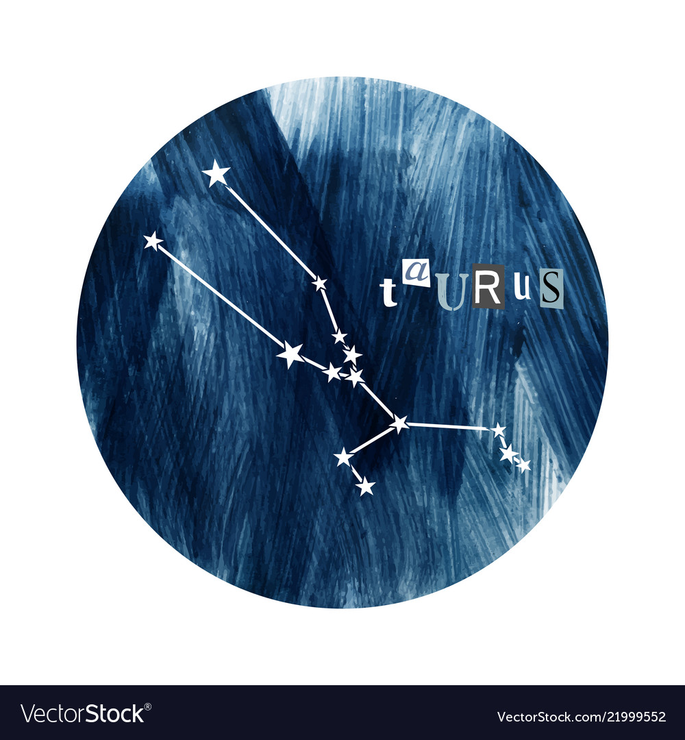 Taurus zodiac constellation