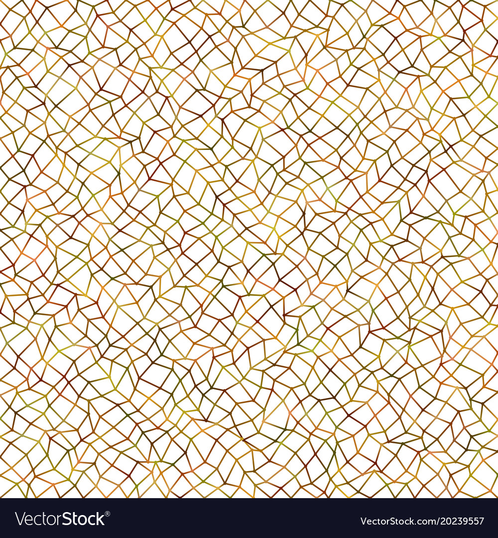 Color abstract irregular polygonal grid