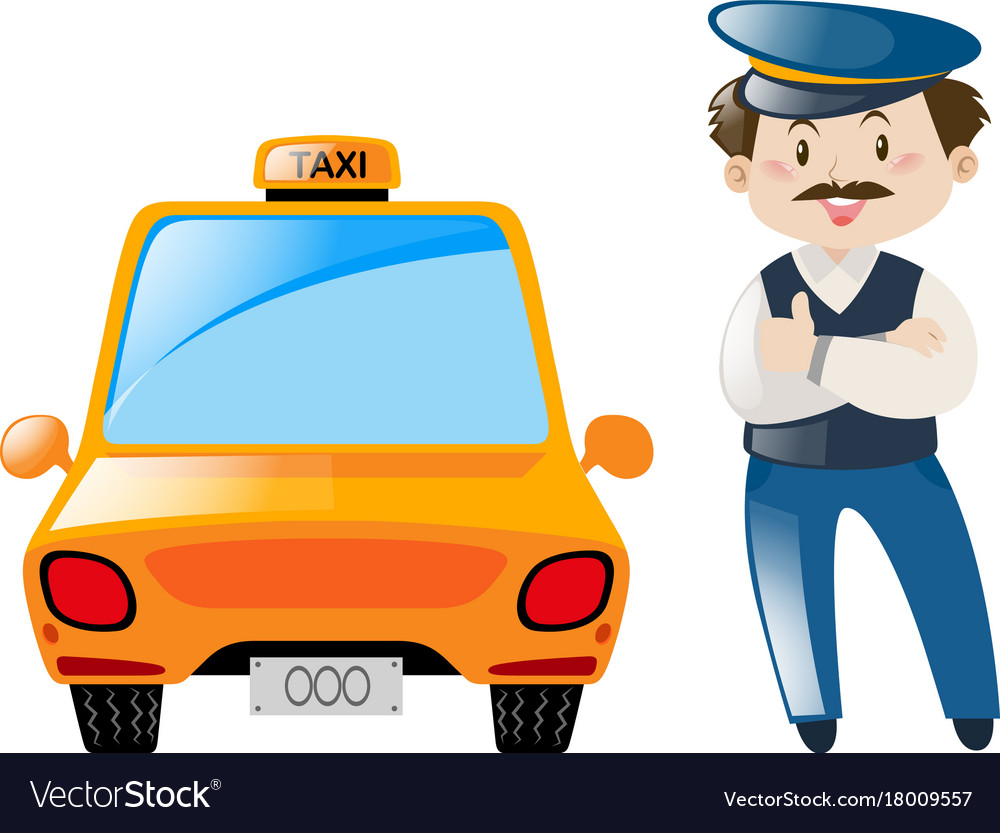 Таксист в картинках для детей, для пацанов