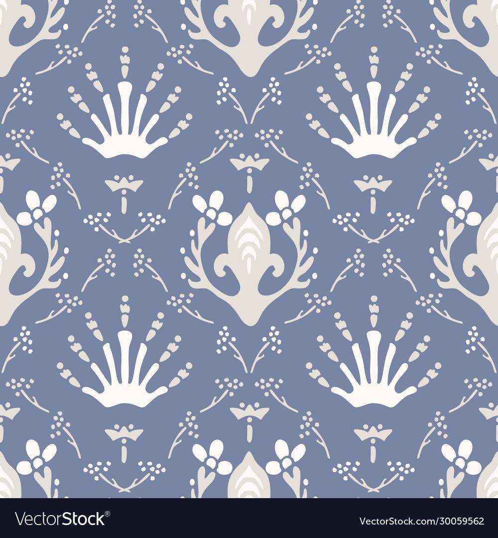 French blu shabby chic damask texture