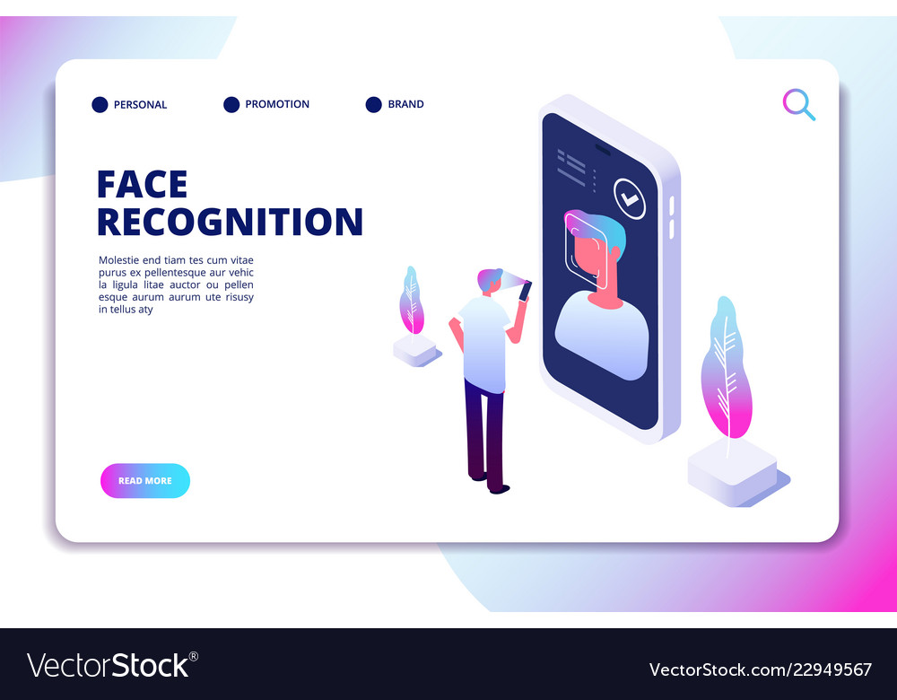 Face recognition isometric concept id