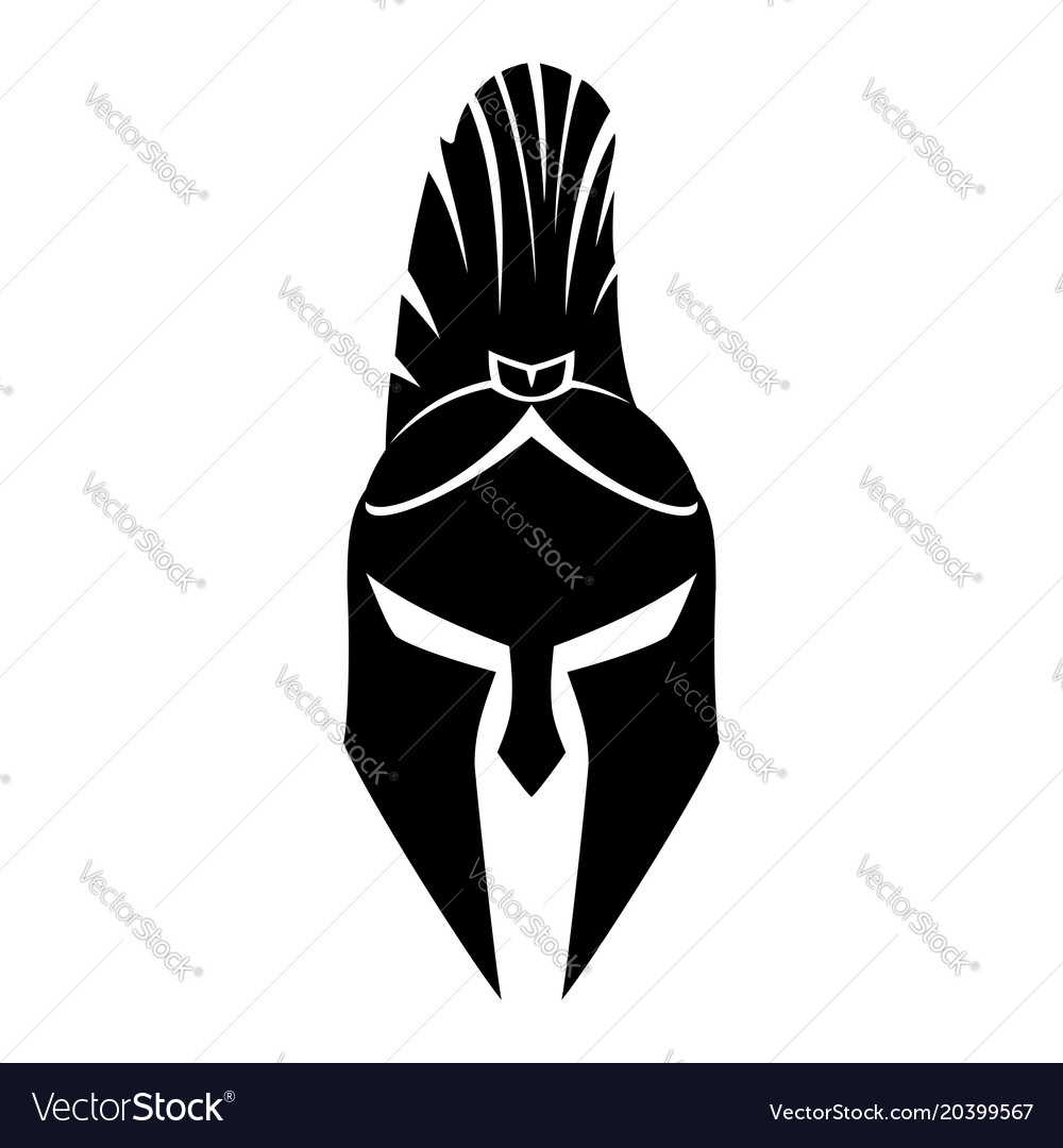 Warrior helmet sign