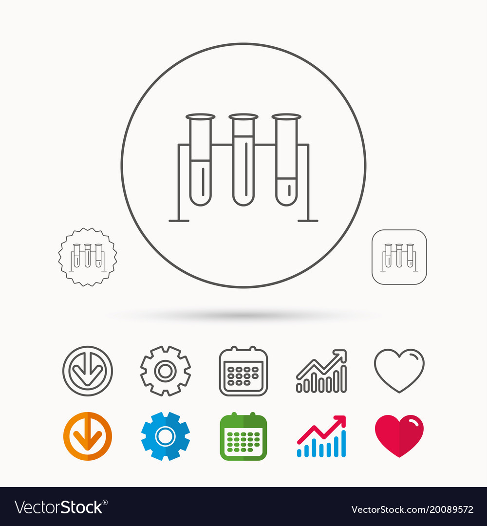 Laboratory bulbs icon chemistry sign royalty free vector laboratory bulbs icon chemistry sign vector image ccuart Gallery