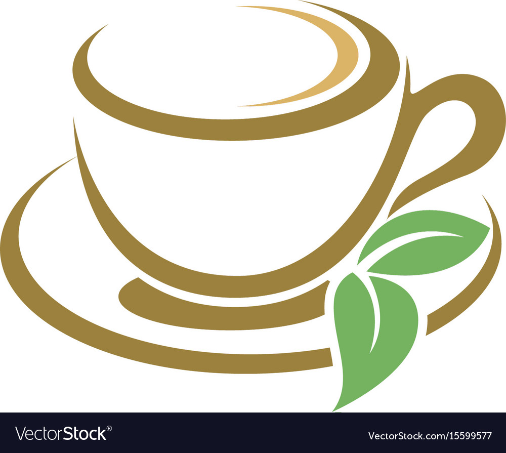 Coffee cup logo template Royalty Free Vector Image