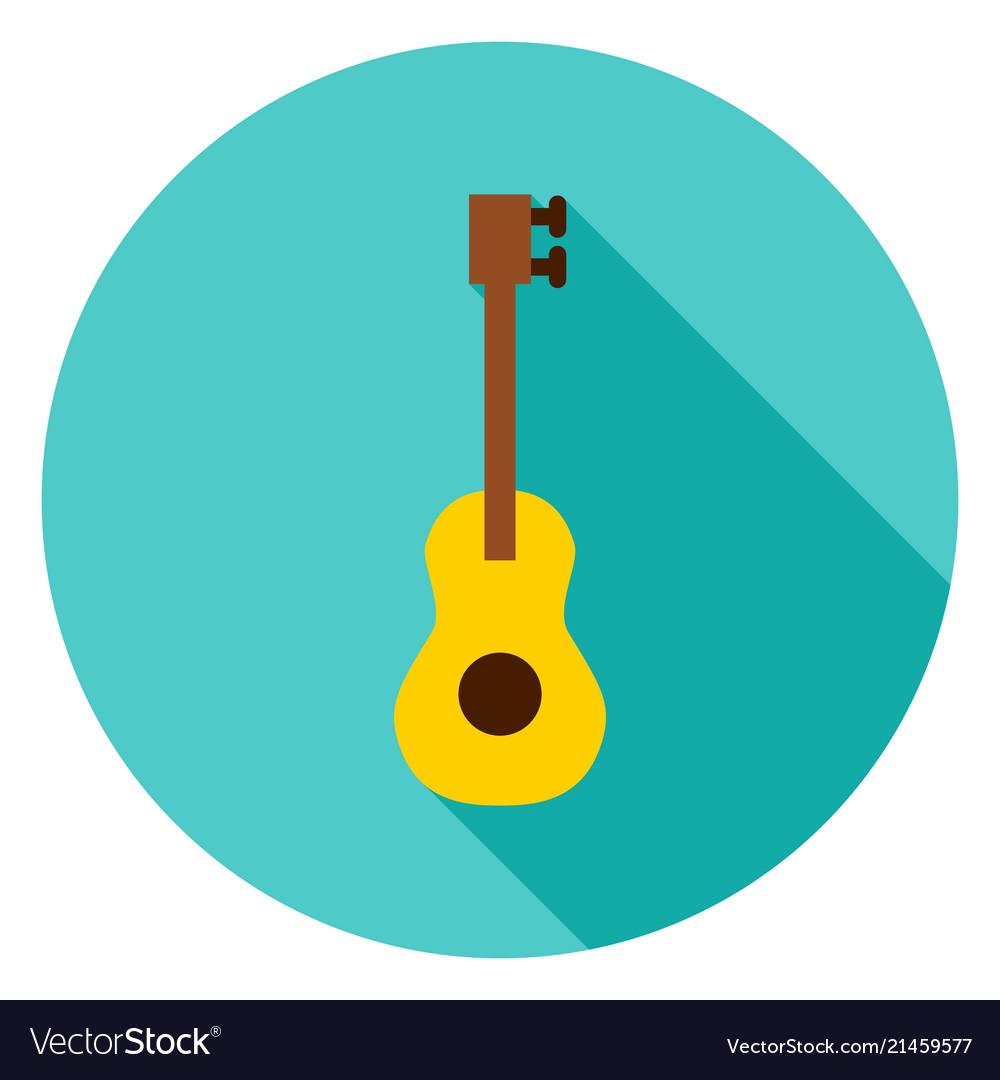 Guitar circle icon